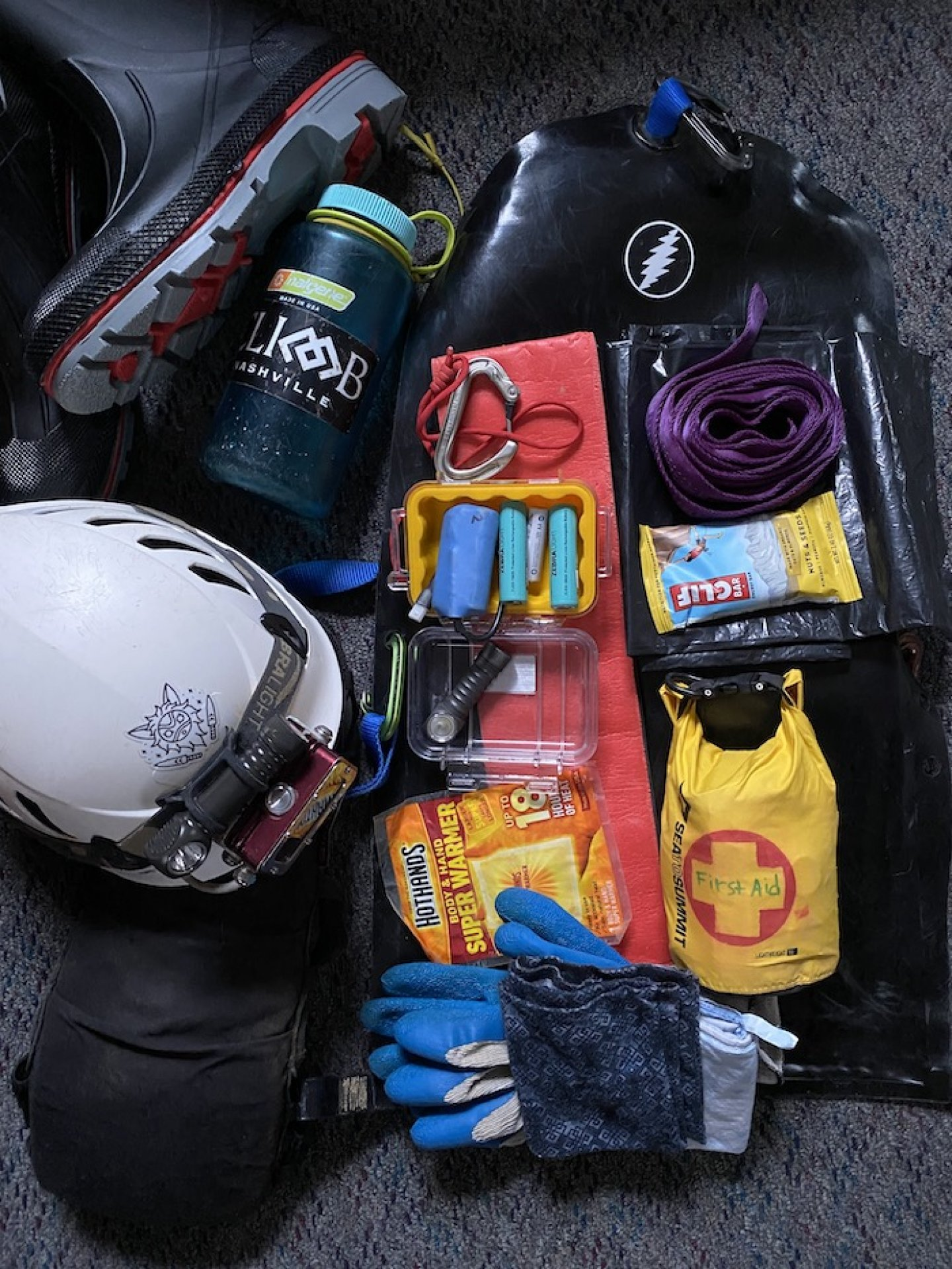 What's in Your Cave Pack? - March 2021 Header Image